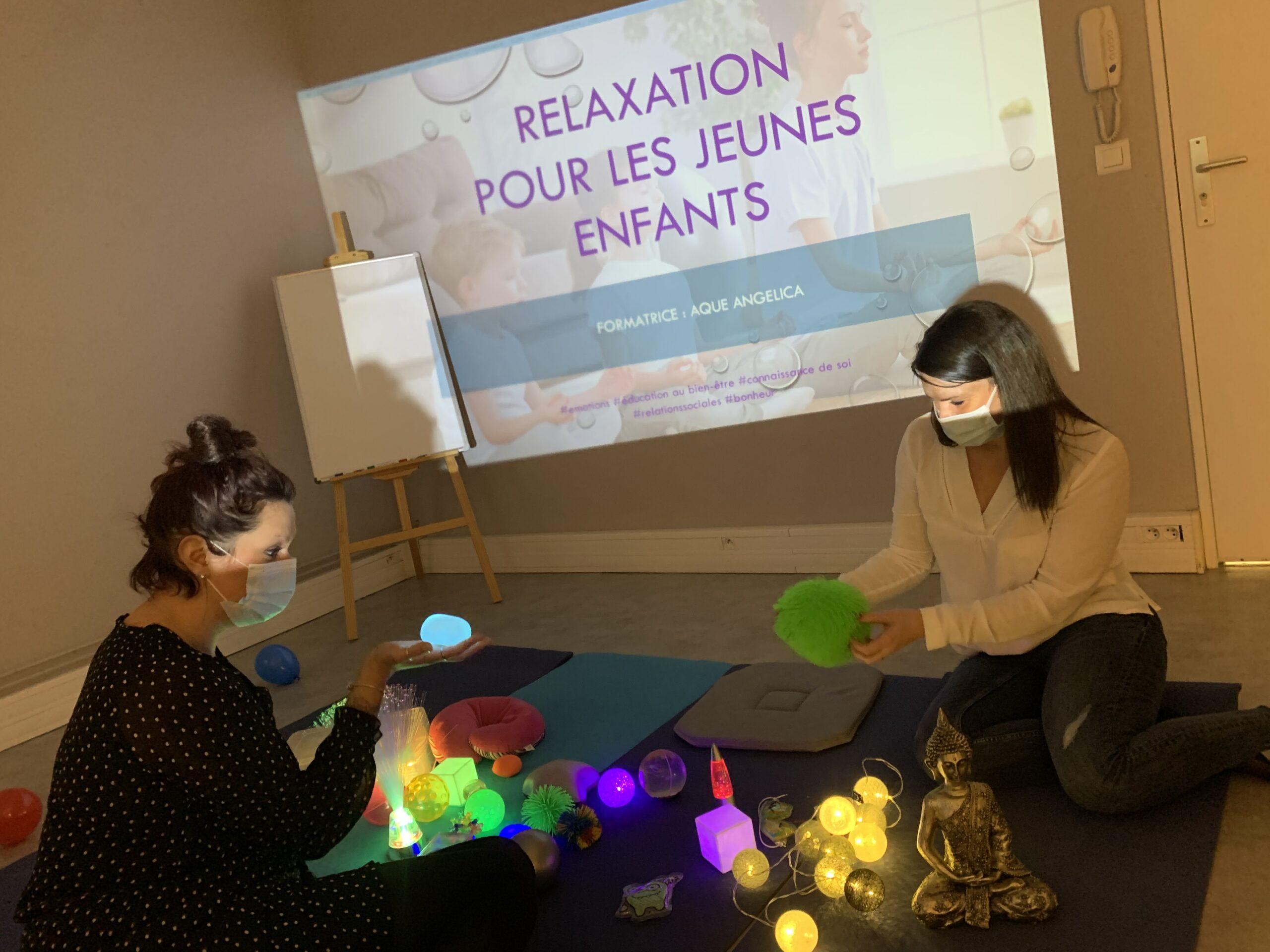 Atelier relaxation jeunes enfants